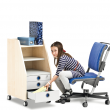 Scooter - regulowany fotel