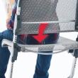 Scooter regulacja wysokości oparcia fotela.