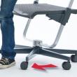 Scooter - ergonomiczny fotel moll - Stabilna podstawa na kółkach.