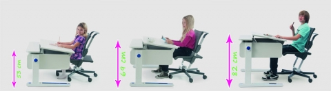 biurka regulowane
