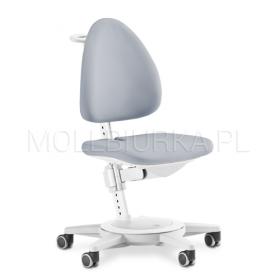 Regulowany fotel Maximo Biały/Szary