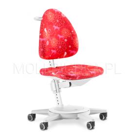 Regulowany fotel Maximo Biały/Wonderland