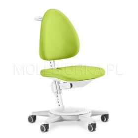 Regulowany fotel Maximo Biały/Zielony