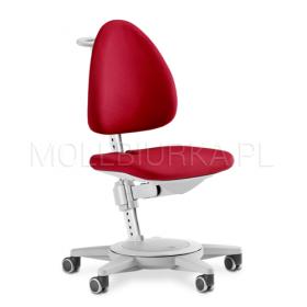 Regulowane krzesło Maximo Szare/Czerwone