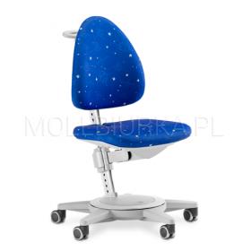Regulowane krzesło Maximo Szare/Galaxy