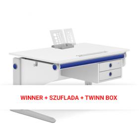 WINNER COMFORT + SZUFLADA + TWINN BOX